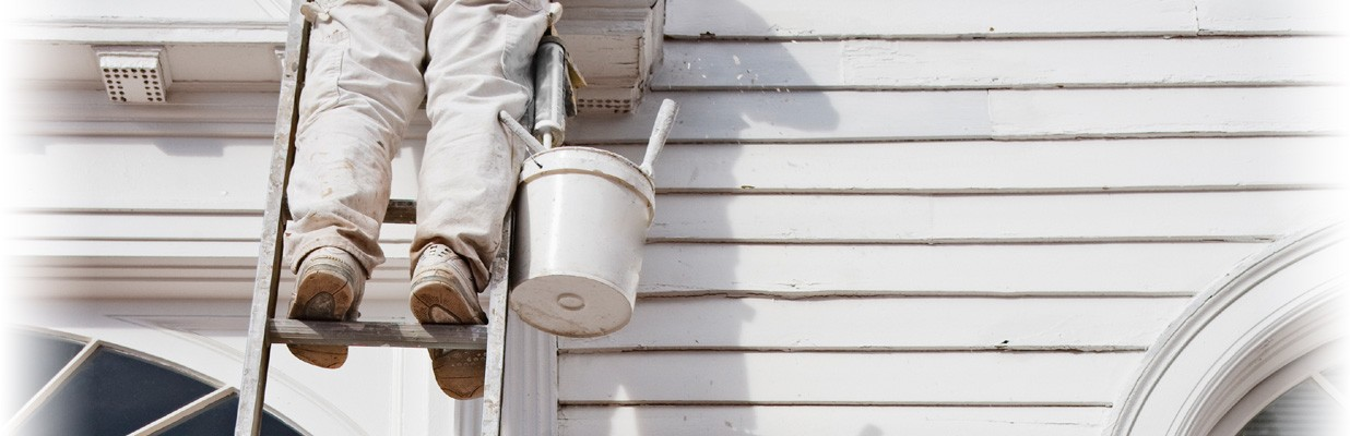 Exterior painting header image
